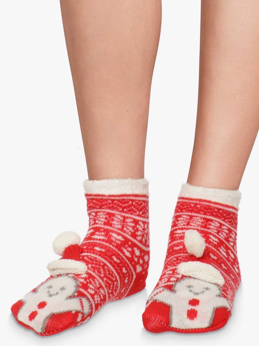 Rouge Chaussettes - Biscuit 1