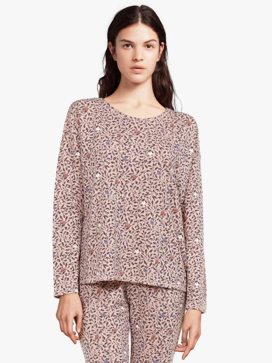 Rose Haut de pyjama - Camille 1