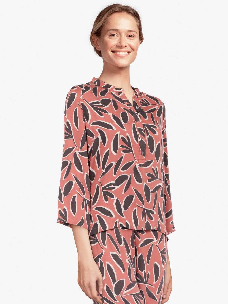 Rose Haut de pyjama - Roxane 1