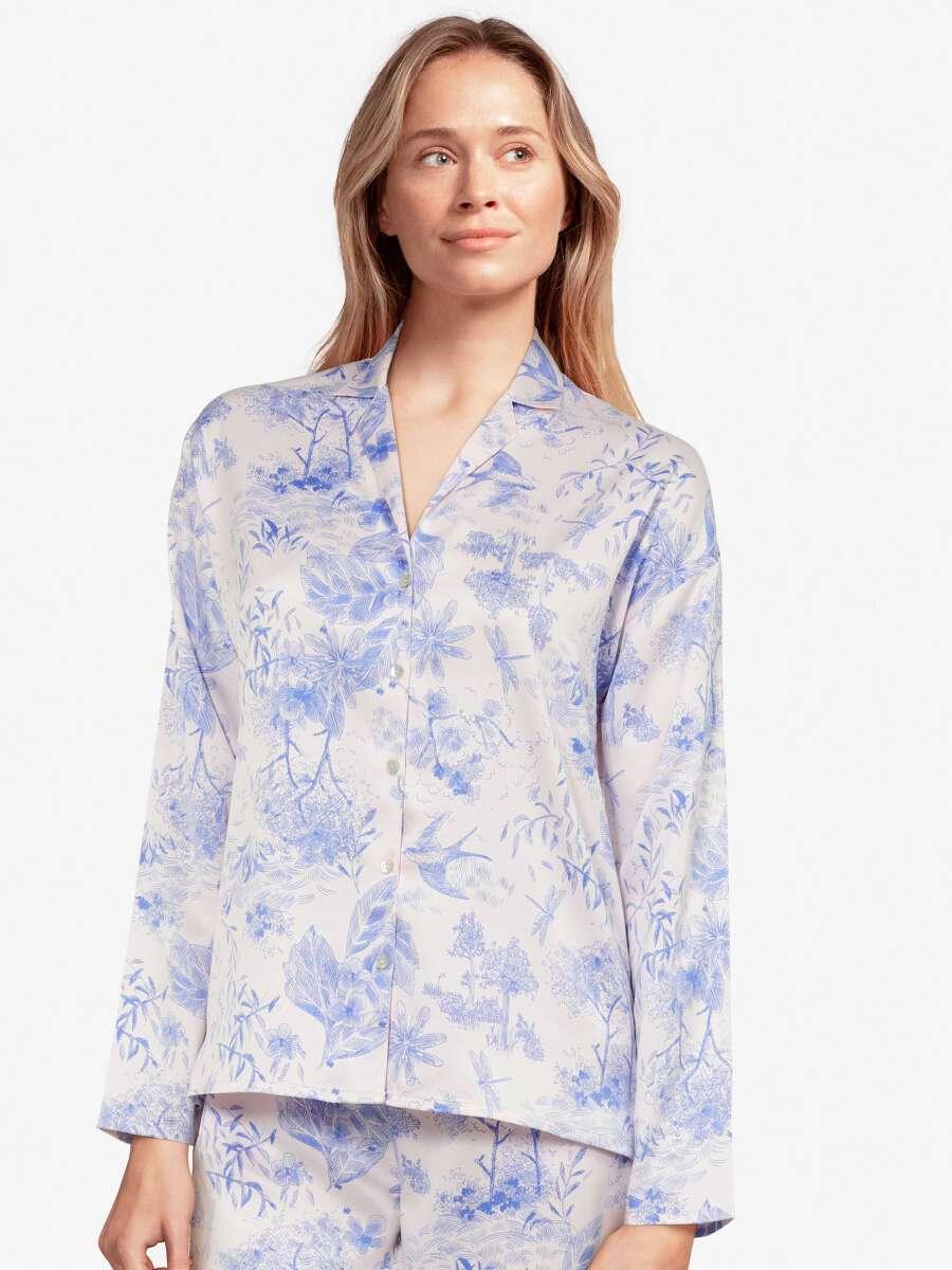 Bleu Haut de pyjama - Royale 1
