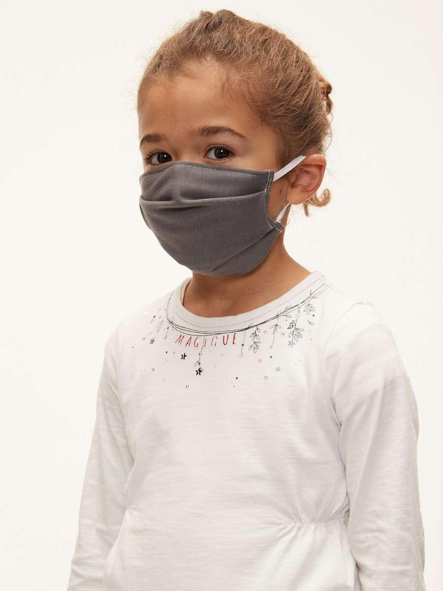 Marron Masques tissu réutilisables 1