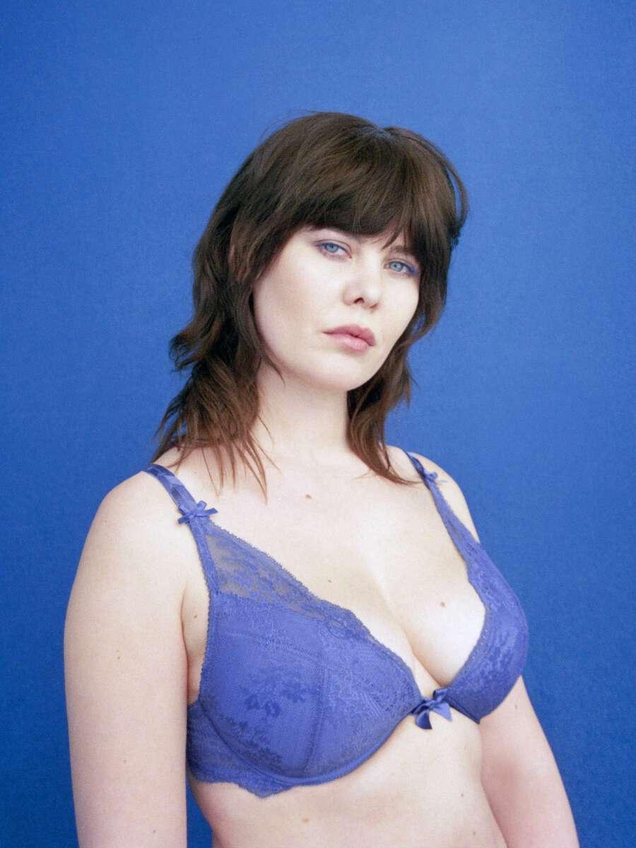 Bleu Soutien-gorge push-up - Valentina 1